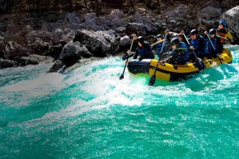 ZORB-ball in rafting